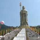 Chitigarbha Bodhisattva statue (324ft) Anhui Province, China.