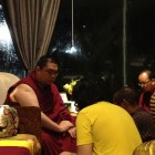 H.E. Tsem Rinpoche granting refuge to Jim Yeh.