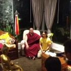 An audience with H.E. Tsem Rinpoche in Kechara Forest Retreat.