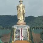 Big Buddha of Lushan (Locana Buddha) (551ft) Henan Province, China.