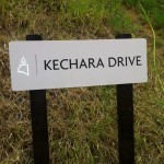 Kechara Drive - the main access road in Kechara Forest Retreat